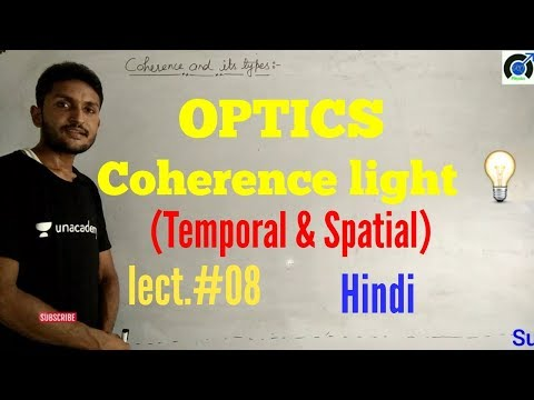 Spatial and temporal coherence