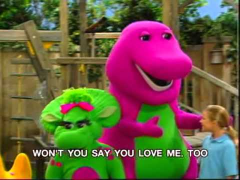 I love you barney download
