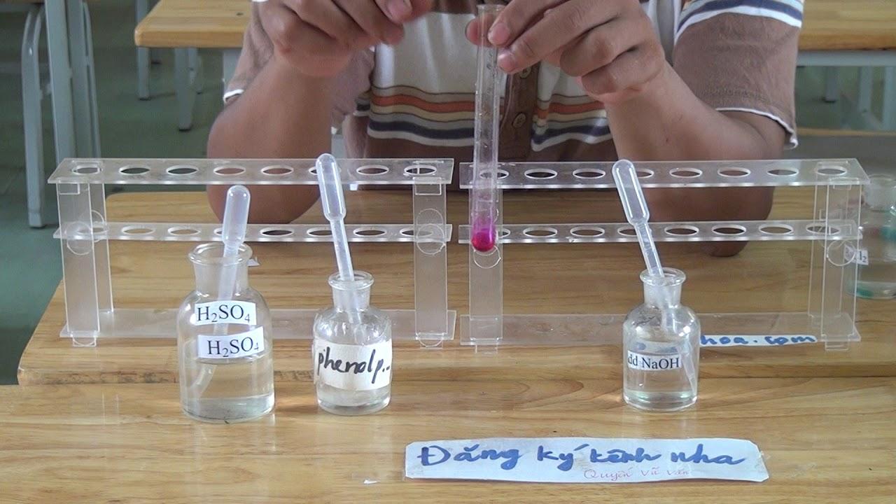 Tính chất hóa học của dd H2SO4: H2SO4 + NaOH
