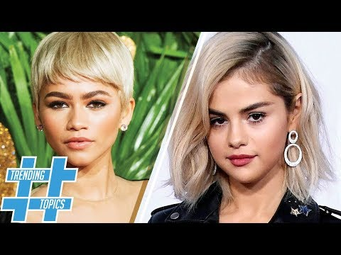 Selena Gomez & Zendaya Prove Blonde is IN! | HS Trending Topics
