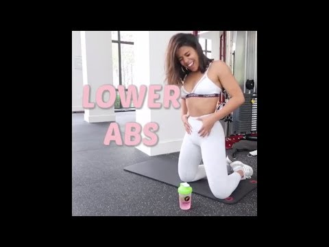 10 Min Lower Ab Workout | LOSE Lower Belly FAT