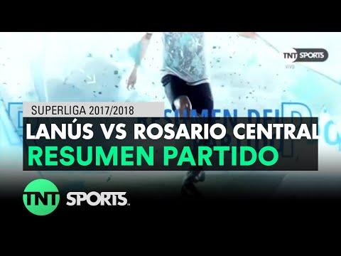 Resumen de Lanús vs Rosario Central (1-1)   Fecha 17 - Superliga Argentina 2017/2018