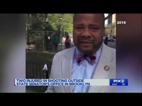 2 Men Shot Near State Sen. Jesse Hamilton`s Brooklyn Office