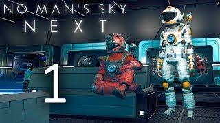 No Man's Sky NEXT - Кооператив - Встреча и ремонт корабля [#1] | PC