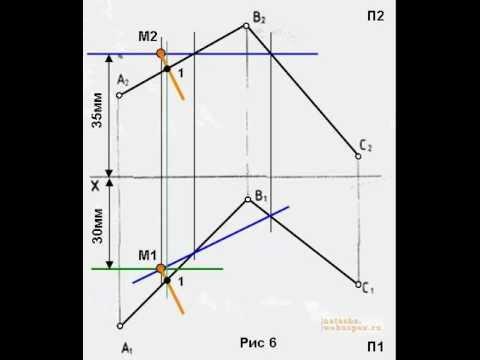 Решить задачу начертательная геометрия умф решить задачу коши