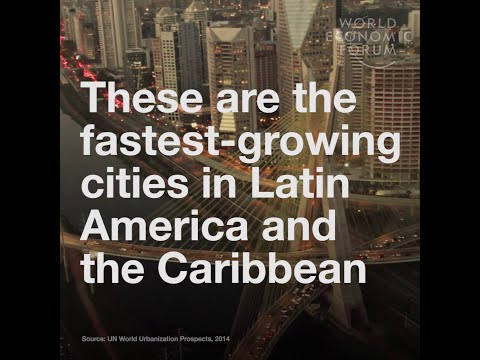 Latin America - Fastest growing cities