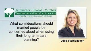 Long Term Care Planning Considerations | Williamsport PA | Steinbacher, Goodall & Yurch