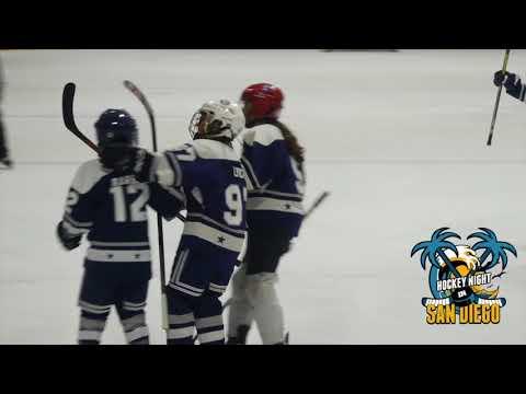LA Jr Kings vs San Diego Oilers Squirt BB Cal State Games