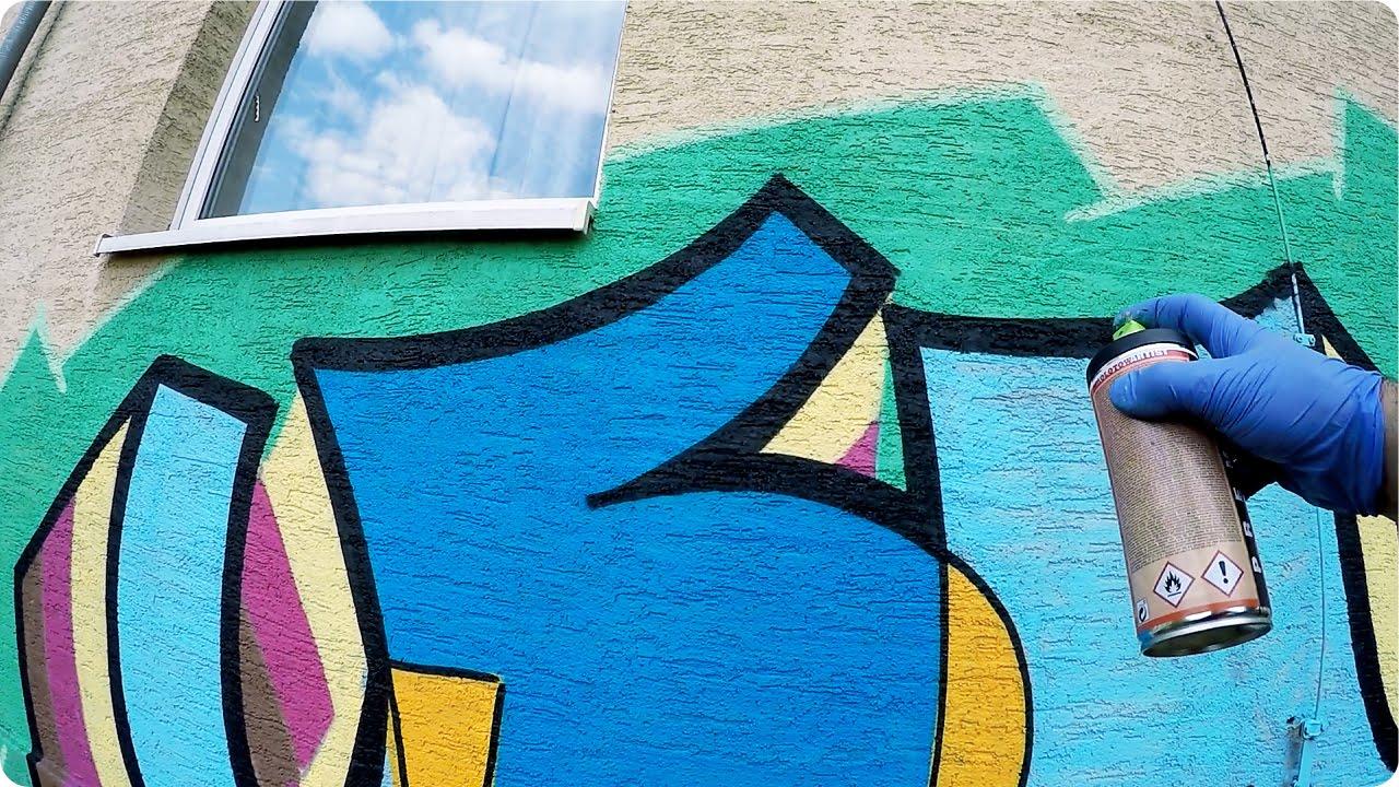 Graffiti Simple Style Leni Gopro