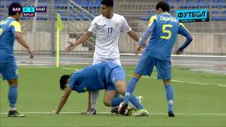 Чемпионат Таджикистана. Баркчи - Хатлон. 1 тайм
