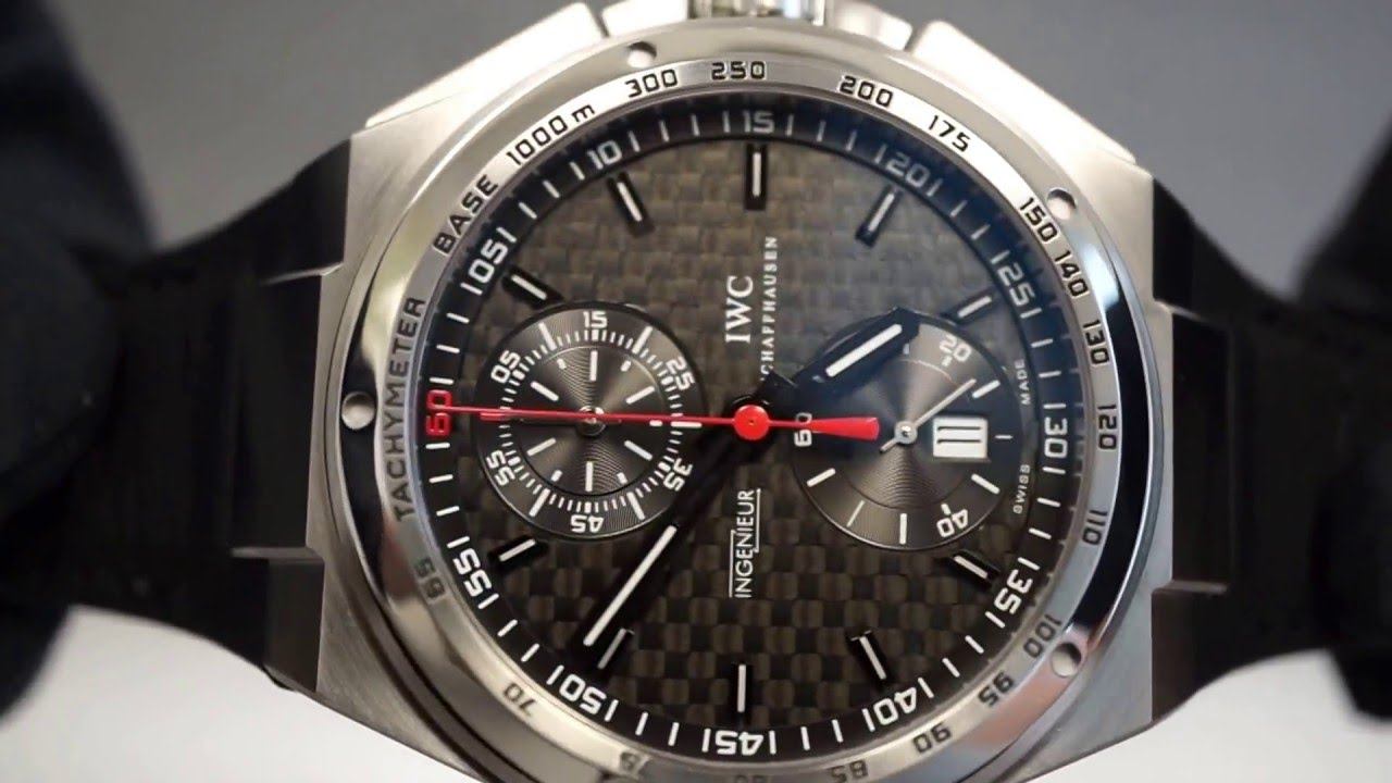 brand new iwc big ingenieur chronograph automatic amg. Black Bedroom Furniture Sets. Home Design Ideas