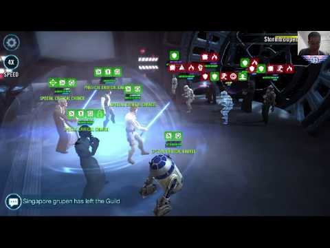 Star Wars Galaxy of Heroes: Clearing Rebels Tier III Basic Training Event
