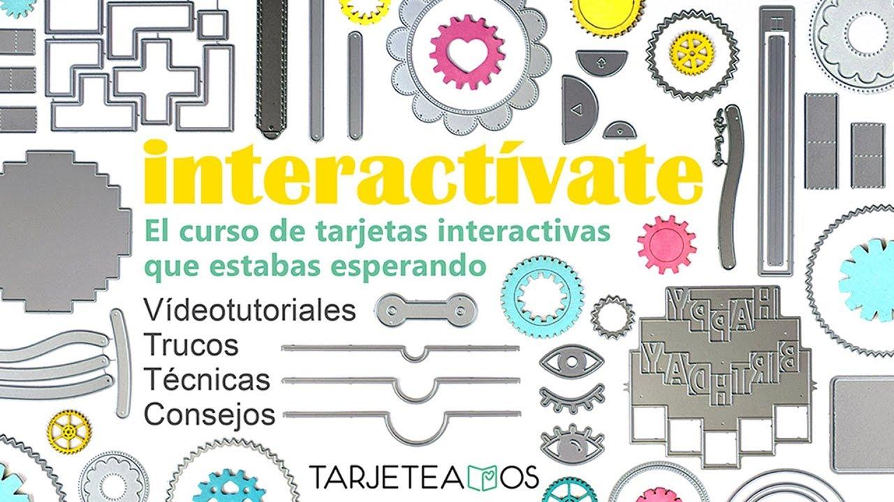 Interactívate, curso online de tarjetas interactivas