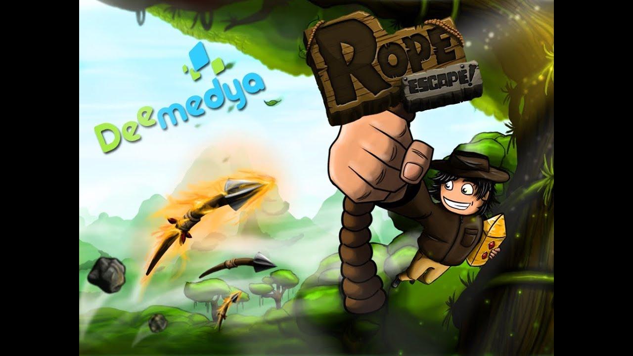 لعبه Rope Escape v1.21 مهكره جاهزه