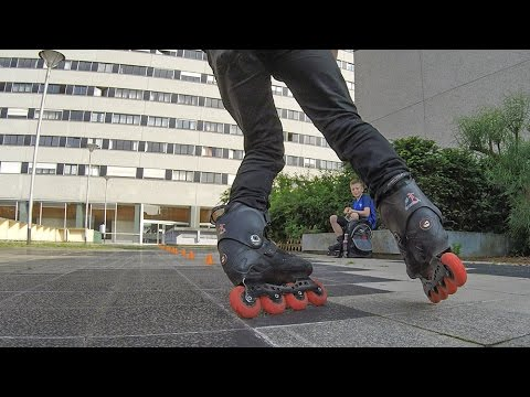 Inline Skating Paris #3 training session