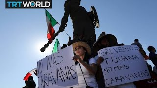 Migrant Caravan: Protests want Central American migrants out