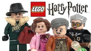 Lego Harry Potter Minifigures Bricktober Pack Review Youtube