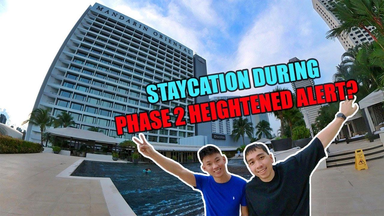 Staycation during Phase 2 Heightened Alert | Mandarin Oriental Singapore
