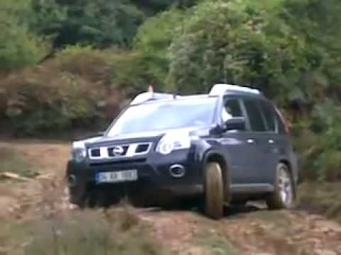 nissan x trail t31 off roading youtube. Black Bedroom Furniture Sets. Home Design Ideas