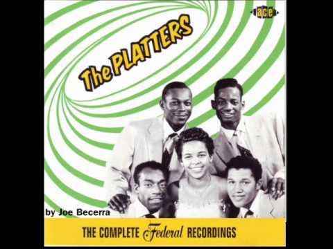 ONLY YOU - THE PLATTERS - 1954 - FEDERAL RECORDS - Edição: Joe Be