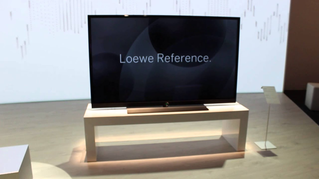 loewe reference 4k fernseher auf der ifa 2014 youtube. Black Bedroom Furniture Sets. Home Design Ideas