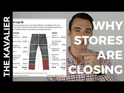 This WSJ Chart Shows Why Your Local Mall Could Be Closing | Retail Store Closures Explained