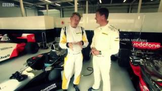 BBC F1 2013: David Coulthard and Mika Häkkinen Drives McLaren Championship Winning Cars