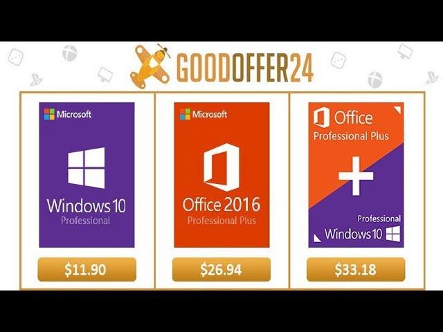 GoodOffer24! - Windows 10 Pro Extremamente Barato + Sorteio!!