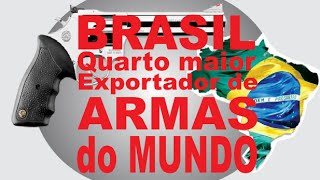 Canal Zoomp - Brasil é o quarto maior exportador de armas leves do mundo.