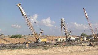 Israel comienza a construir un muro subterráneo en la Franja de Gaza