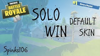 Fortnite - Solo Win - Default Skin | PS4