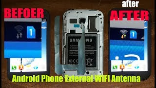 Android Phone External WIFI Antenna! Home Technology