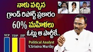 Political Analyst V.Srinivasa Murthy Reports On Women Percentage Of Voting | AP Elections 2019