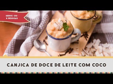 COMO FAZER CANJICA DE DOCE DE LEITE - Receitas de Minuto #262