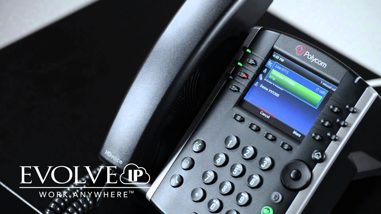 Polycom VVX 400/401 Call Park and Retrieve a Call   Evolve IP ...