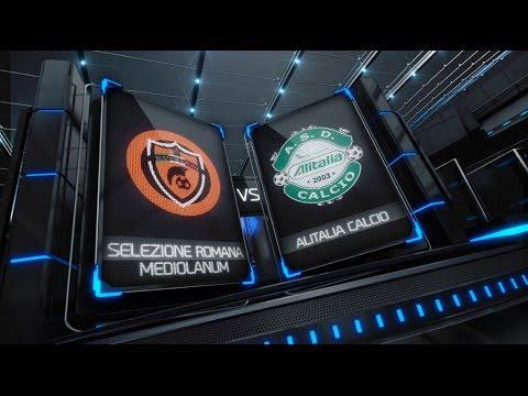 Serie A - 26^ - Selezione Romana Mediolanum Vs Alitalia Calcio - Fanner News del 24-04-2014