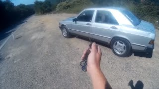 1985 Mercedes benz 190D walkaround and POV drive + 0-100 km/h