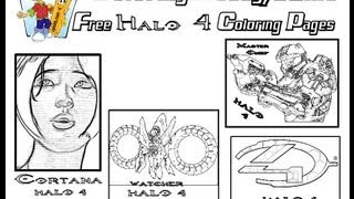 ColoringBuddyMike: Halo 4 Coloring Pages To Print