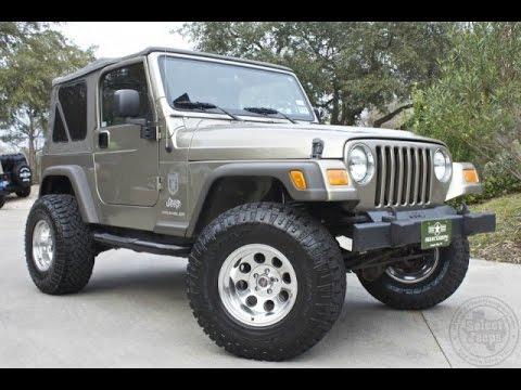 2006 jeep wrangler x only 4k miles youtube. Black Bedroom Furniture Sets. Home Design Ideas