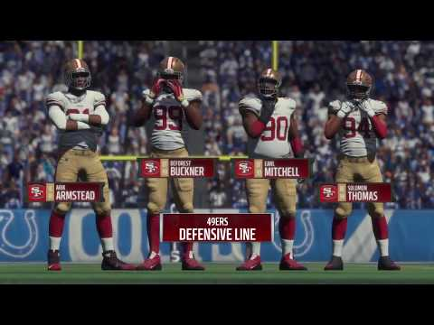 Madden 18 - San Francisco 49ers vs Indianapolis Colts - Full Game Simulation Nation