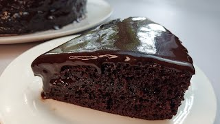 SUPER MOIST CHOCOLATE CAKE | WITHOUT OVEN