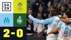 Mario Balotelli feiert Traumtor auf Instagram: Olympique Marseille - St.Etienne 2:0   Ligue 1  DAZN