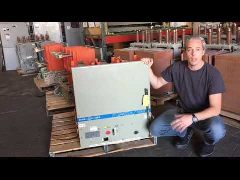 VB1 4.16-250 ~ GE VB1-4.16-250 Circuit Breaker 1200 Amp ML-18 Mechanism