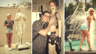 Hilarious People Having Too Much Fun With Statues | People Doing Inappropriate Things to Poor Statue