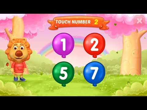 Learn Number 123  With 123 Numbers Count & Tracing Educational Game For Kids - Part 2
