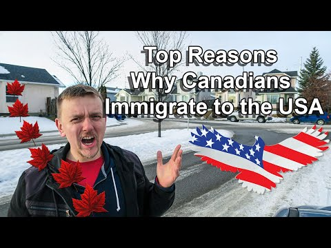 Top Reasons Why Canadians Immigrate To The USA