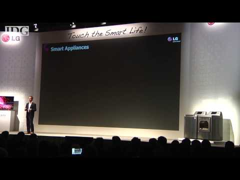 CES2013: LG Electronics intros smartphone controllable appli