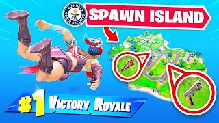 WORLD RECORD! Going BACK to SPAWN ISLAND! (not clickbait)