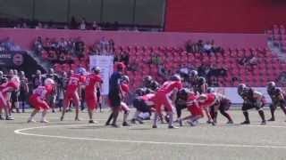 ANMFA: Team Morocco 14 - Neuchâtel Knights 0 (extended highlights)