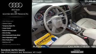 Used 2012 Audi Q5 | Sunrise Auto Sales, Rosedale, NY